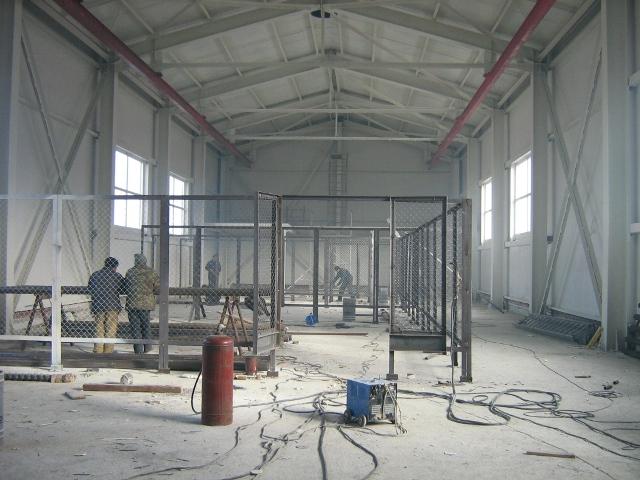 Внутренние конструкции в промышленных зданиях