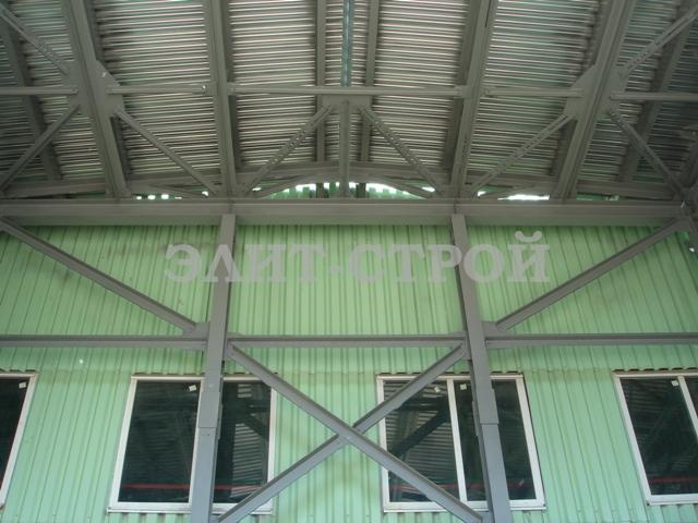 Строительные конструкции промышленных зданий