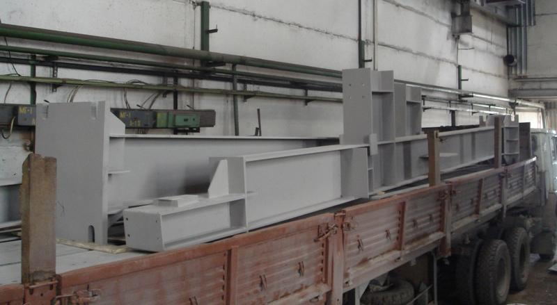 Отгрузка металлоконструкций - колонны