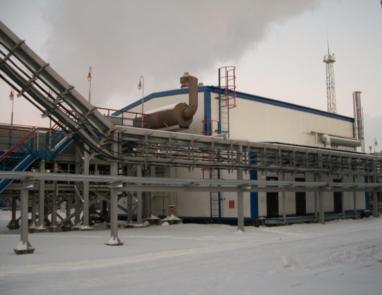 Укрытие газоперекачевающего агрегата ГПА