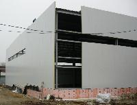 Сэндвич панели для промышленных зданий