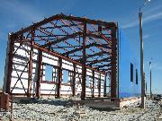Промышленное здание из металлоконструкций